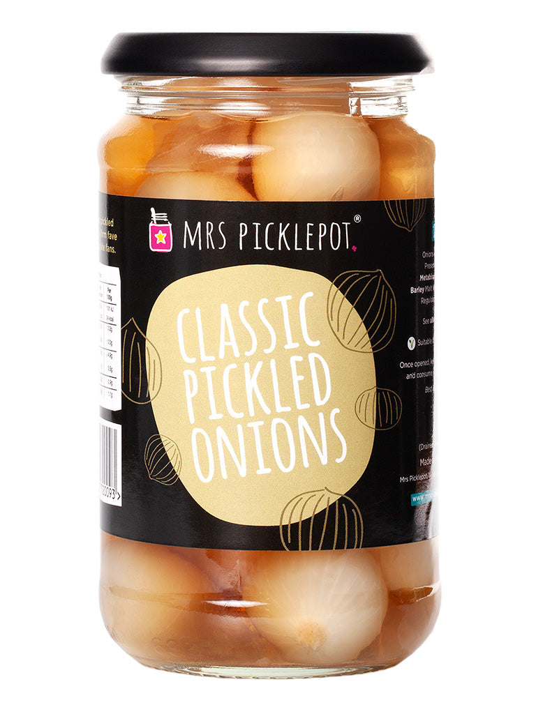 MRS PICKLEPOT Classic Pickled Onions 440g