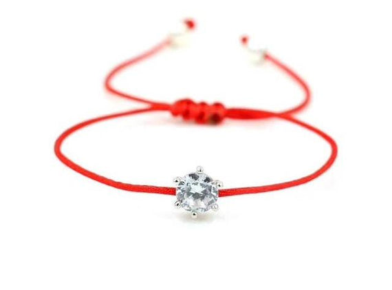 Red Rope Thread String  Bracelet