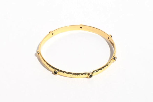 18K Gold Plated Bangle Bracelet