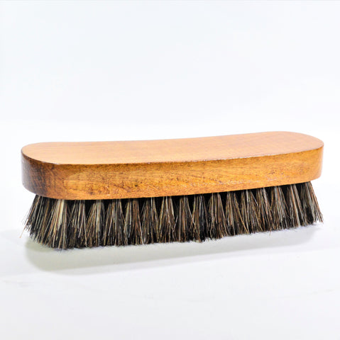 Premium Horse Hair Leather Brush
