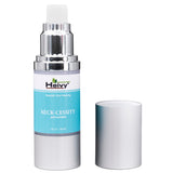 Heivy Neck-cessity Anti-Aging Neck Cream product pump bottle with lid removed
