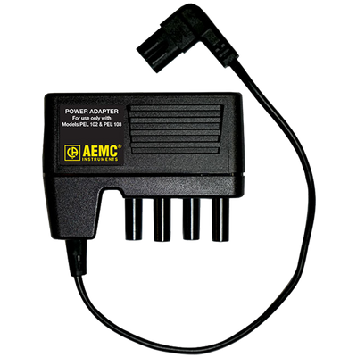 AEMC PEL Power Adapter for use with Models PEL 102 & PEL 103
