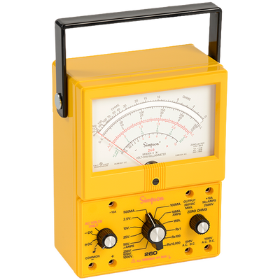 Simpson 260-8xi Analog Yellow Industrial VOM