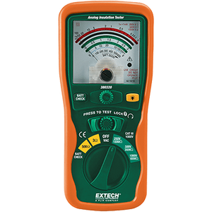 Extech 380320 Analog Insulation Tester
