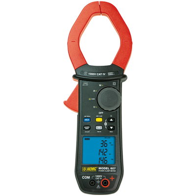 AEMC Model 607 Clamp-On Meter