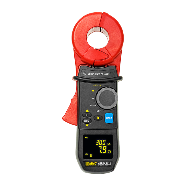 AEMC 6416 Clamp-on Resistance Tester