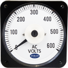MCS Analog AC Voltmeter, 110-130 Volts, Transformer-Rated