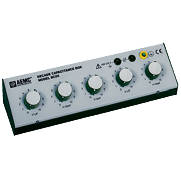 AEMC BC05 Capacitance Decade Box