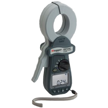 Megger Det24c Ground Resistance Clamp Testers
