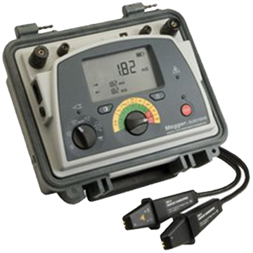 Megger Dlro10hd - Dual Power 10a Low Resistance Ohmmeter