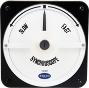 MCS 106452AAAA | Analog Synchroscope Meter | Slow-Fast, 120 Volt, 60Hz