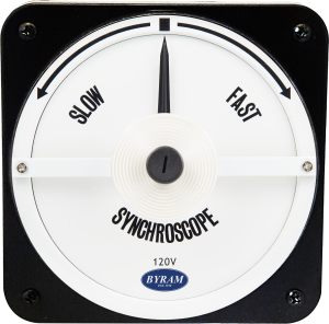 MCS 106452ABAA | Analog Synchroscope Meter | Slow-Fast, 120 Volt, 50 Hz