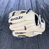 "GW-RTP: Bradley 10.5"" Plus Web, Igniter 20S 4-Finger, Blonde/Black-GloveWhisperer, Inc"