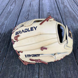 "GW-RTP: Bradley 10.5"" Plus Web, Igniter 20S 4-Finger, Blonde/Indian Tan-GloveWhisperer, Inc"