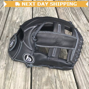 "GW-RTP-RS: Bradley 11.5"" Open Back, Mod Post, FP Bandito Series (BLACK)-GloveWhisperer, Inc"