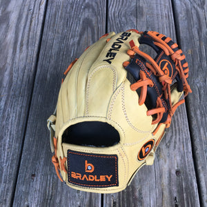 "GW-RTP: Bradley 11"" I-Web, Next Play Series Blond/Black/Orange-GloveWhisperer, Inc"