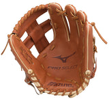 "GW-RTP-RS: Mizuno Pro Select Infield Baseball Glove 11.75"" - Regular Pocket-GloveWhisperer, Inc"