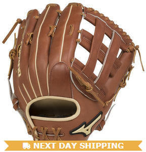 "GW-RTP-RS: Mizuno Pro Select Outfield Baseball Glove 12.75"" - Deep Pocket-GloveWhisperer, Inc"