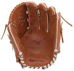 "GW-RTP: Mizuno PRO SELECT FASTPITCH SOFTBALL GLOVE 12.5""-GloveWhisperer, Inc"