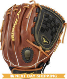 "GW-RTP-RS: Mizuno CLASSIC SERIES FASTPITCH SOFTBALL GLOVE 12""-GloveWhisperer, Inc"