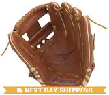 "GW-RTP-RS: Mizuno Pro Select Infield Baseball Glove 11.5"" - Shallow Pocket-GloveWhisperer, Inc"