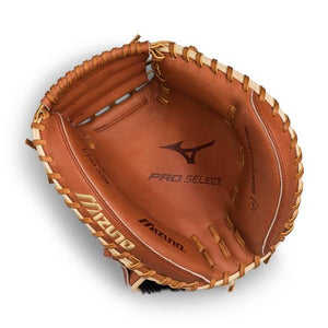 "GW-RTP: Mizuno PRO SELECT BASEBALL CATCHER'S MITT 33.5""-GloveWhisperer, Inc"