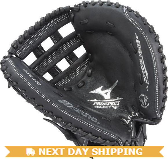 GW-RTP-RS: Mizuno Prospect Series Youth Fastpitch Catcher's Mitt 32.5