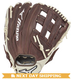 "GW-RTP_RS: Mizuno Franchise Series Outfield Baseball Glove 12.5""-GloveWhisperer, Inc"