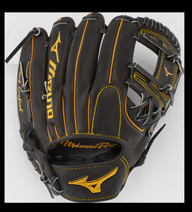 "GW-RTP-RS: MIZUNO PRO INFIELD BASEBALL GLOVE 11.5"" - SHALLOW POCKET-GloveWhisperer, Inc"
