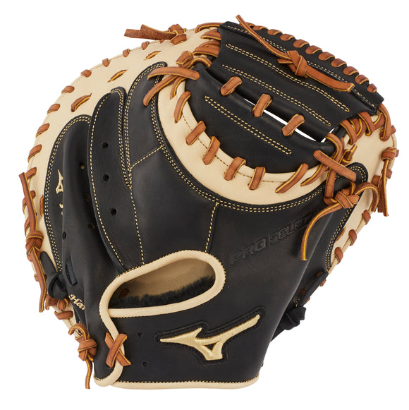 GW-RTP-RS: MIZUNO PRO SELECT BASEBALL CATCHER'S MITT 33.5