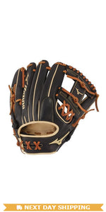"GW-RTP-RS: Mizuno PRO SELECT INFIELD BASEBALL GLOVE 11.75"" - SHALLOW POCKET-GloveWhisperer, Inc"