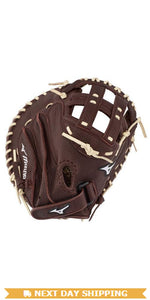 "GW-RTP-RS: Mizuno FRANCHISE SERIES FASTPITCH SOFTBALL CATCHER'S MITT 34""-GloveWhisperer, Inc"