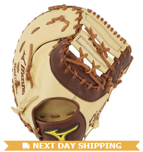"GW-RTP-RS: Mizuno CLASSIC PRO SOFT BASEBALL FIRST BASE MITT 12.5""-GloveWhisperer, Inc"