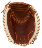 "GW-RTP-RS: MIZUNO CLASSIC SERIES FASTPITCH SOFTBALL CATCHER'S MITT 34.5""-GloveWhisperer, Inc"