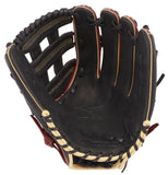 "GW-RTP: Mizuno MVP Series Slowpitch Softball Glove 13"" Cherry/Black-GloveWhisperer, Inc"