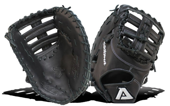 GW-RTP: Akadema 12.5 INCH PATTERN, SINGLE POST WEB, DEEP POCKET. DESIGNED FOR 1ST BASEMAN-GloveWhisperer, Inc