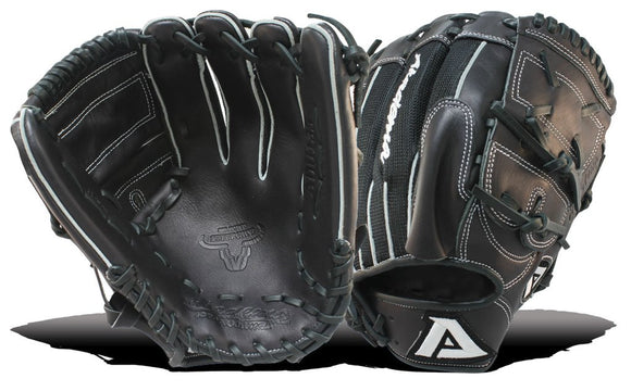 GW-RTP: Akadema 12 INCH PATTERN, DOUBLE WEB, OPEN BACK, DEEP POCKET, PITCHERS SLEEVE, MESH BACK-GloveWhisperer, Inc