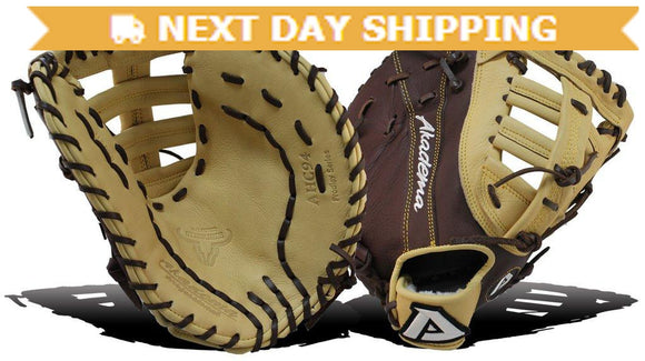 GW-RTP-RS: Akadema AHC 94 11.5 INCH SINGLE-POST, DOUBLE-T WEB, FIRST BASEMAN'S GLOVE-GloveWhisperer, Inc