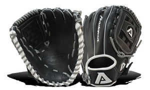 GW-RTP: Akadema AOZ 91 11.25 INCH REPTILIAN PATTERN, B-HIVE WEB. YOUTH GLOVE FOR ALL POSITIONS-GloveWhisperer, Inc