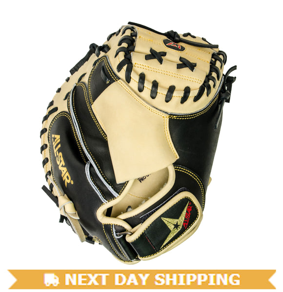 GW-RTP_RS: All-Star Pro Elite JR Black and Tan Mitt 31.5