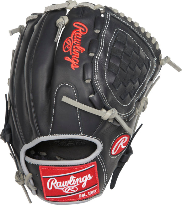 GW-RTP_RS: Rawlings Gamer G205-3BG - 11 ¾˝ • Looped Modified Trap-Eze® web-GloveWhisperer, Inc