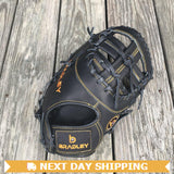 "GW-RTP-RS: Bradley 11.75"" 1B Mitt, Igniter Series Black Label (Black)-GloveWhisperer, Inc"
