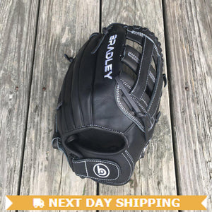 "GW-RTP-RS: Bradley 11.75"" H-Web, FP Bandito Series (Black/White) Adjustable-GloveWhisperer, Inc"