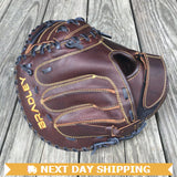 "GW-RTP-RS: Bradley 31.5"" Catcher's Mitt, Igniter Series Brown-GloveWhisperer, Inc"