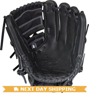 GW-RTP-RS: Rawlings HOH PRO206-9JB • 12˝ • 2-piece solid web-GloveWhisperer, Inc