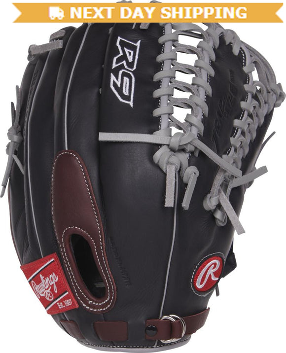 GW-RTP-RS: Rawlings Gamer 2019 R96019• 12 ¾˝ •Trap-Eze® web •Fastback® design-GloveWhisperer, Inc