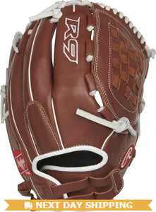 GW-RTP-RS: Rawlings 2019 R9 Series 12.5 in Fingershift Glove Basket Web, Pull-Strap Back-GloveWhisperer, Inc