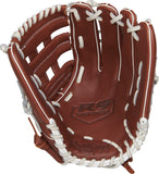"GW-RTP-RS: Rawlings R9 Series 11.75"" FP Pro H Web, Pull-Strap Back-GloveWhisperer, Inc"