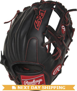 GW-RTP-RS: Rawlings Gamer - Youth Pro Taper Fit R9YPT2-2B • 11 ¼˝ • Pro I™ web-GloveWhisperer, Inc