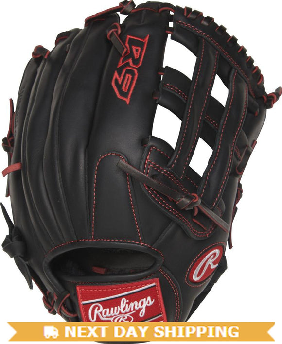 GW-RTP-RS: Rawlings Gamer - Youth Pro Taper Fit R9YPT6-6B • 12˝ • Pro H™ web-GloveWhisperer, Inc